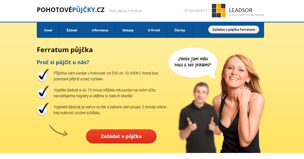 pujcky online ihned roudnice nad labem